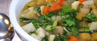 Диета на сельдерейном супе