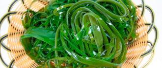 Морская капуста польза и вред лечебные свойства
