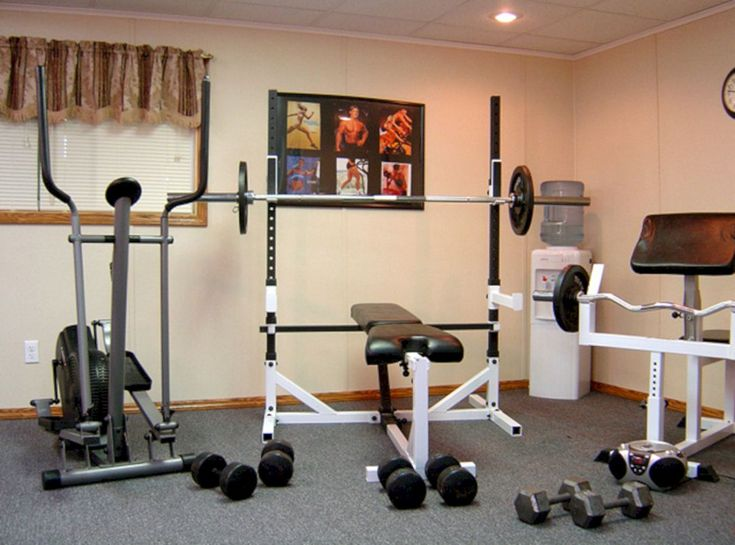 Как сделать домашний фитнес зал